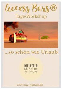 Access Bars® Tagesworkshop in Bielefeld